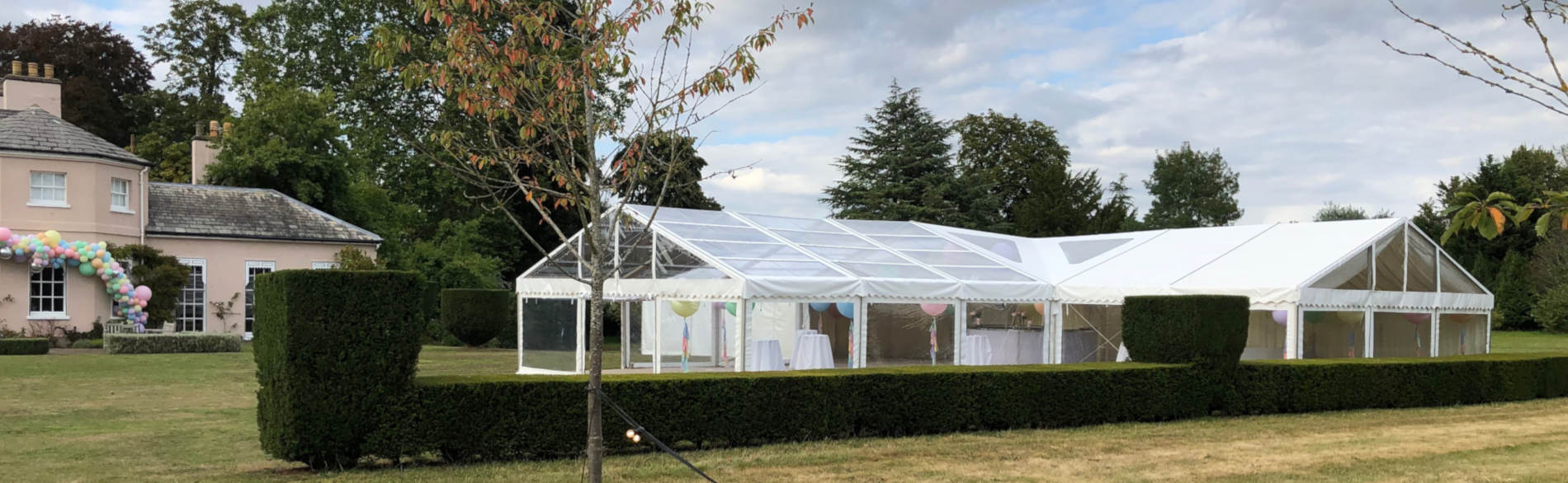 Clear span marquees Hampshire