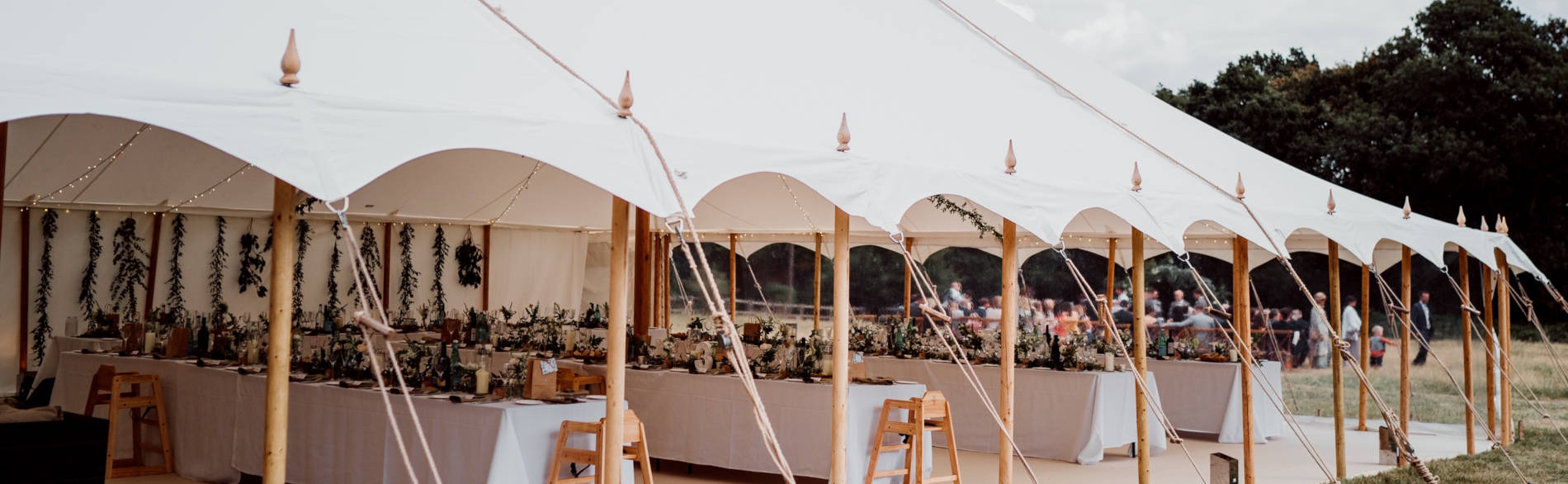 Luxury Wedding Marquee Hampshire