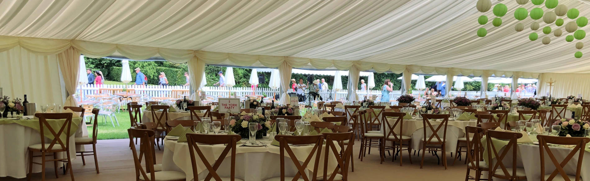 One six Events Luxury Marquee Hire
