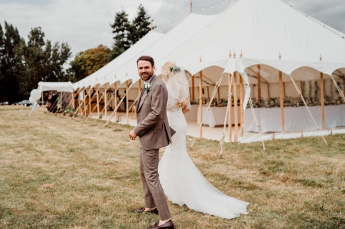 Marquee wedding Hampshire