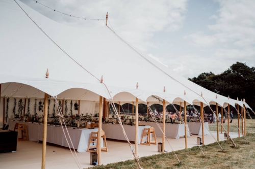 Wedding marquee hire Hampshire